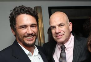 James Franco and David Simon