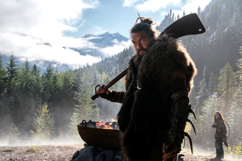 Jason Momoa in See the Apple TV series he's in