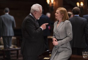"Brian Cox and Sarah Snook in ""Succession"" Season 2"
