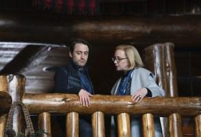 "Kieran Culkin and J. Smith-Cameron in ""Succession"" Season 2"