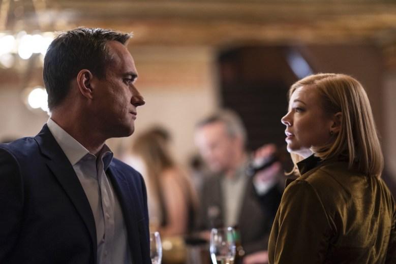 "Matthew Macfadyen and Sarah Snook in ""Succession"" Season 2"
