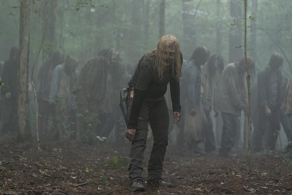 Samantha Morton as Alpha - The Walking Dead _ Season 10, Episode 2 - Photo Credit: Jace Downs/AMC