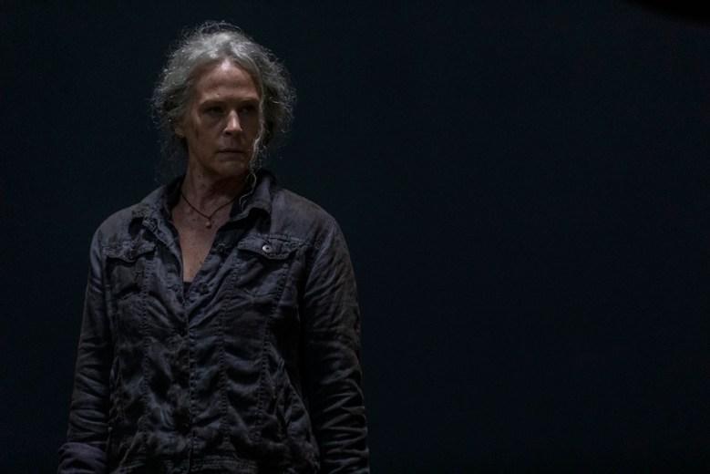 Melissa McBride as Carol Peletier - The Walking Dead _ Season 10, Episode 3 - Photo Credit: Jackson Lee Davis/AMC