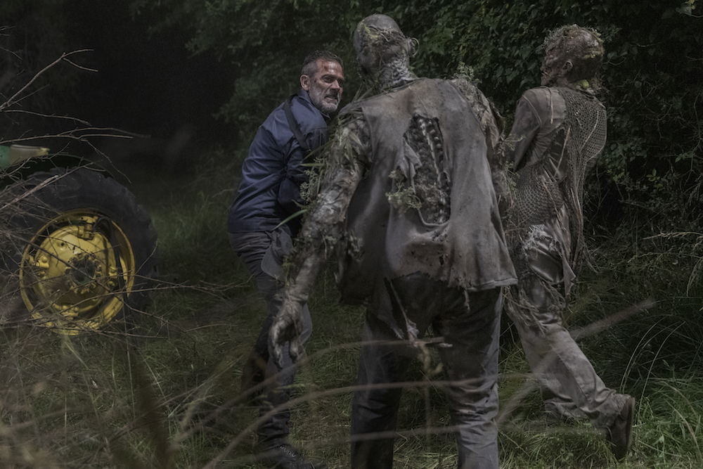 Jeffrey Dean Morgan as Negan - The Walking Dead _ Season 10, Episode 3 - Photo Credit: Jackson Lee Davis/AMC