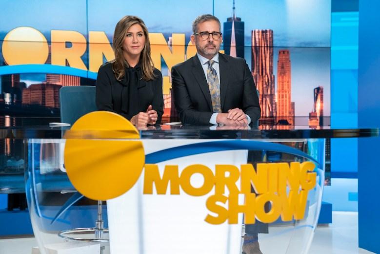 The Morning Show Jennifer Aniston Steve Carell Apple TV Plus