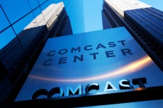 The Comcast headquarters building in Philadelphia. On Friday, Jul;y 8, 2016, the company says it is increasing the number of home internet customers who will face limits on how much data they can use before getting hit with extra charges. The company is adding the Chicago region and says that caps will now cover 23 percent of customers, from 14 percent before. Caps already apply in Atlanta, Miami, Memphis and Nashville, Tennessee, and other regions. AT&T and some smaller providers also meter home internetComcast Data Caps, Philadelphia, USA