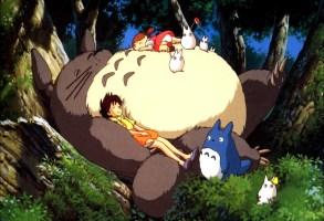 Editorial use only. No book cover usage.Mandatory Credit: Photo by Studio Ghibli/Tokuma-Shoten/Nibariki/Kobal/Shutterstock (5872831d)My Neighbor Totoro (1988)My Neighbor Totoro - 1988Director: Hayao MiyazakiStudio Ghibli/Tokuma-Shoten/NibarikiJAPANAnimationMy Neighbour Totoro / Tonari No TotoroMon voisin Totoro