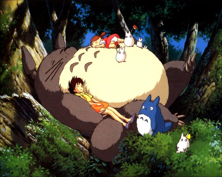 Editorial use only. No book cover usage.Mandatory Credit: Photo by Studio Ghibli/Tokuma-Shoten/Nibariki/Kobal/Shutterstock (5872831d)My Neighbor Totoro (1988)My Neighbor Totoro - 1988Director: Hayao MiyazakiStudio Ghibli/Tokuma-Shoten/NibarikiJAPANAnimationMy Neighbour Totoro / Tonari No TotoroMon voisin Totoro