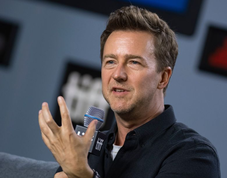 Edward Norton attends the press conference for the movie 'Motherless Brooklyn' during the 44th annual Toronto International Film Festival (TIFF) in Toronto, Canada, 11 September 2019. The festival runs 05 to 15 September.Motherless Brooklyn - Press Conference - 44th Toronto Film Festival, Canada - 11 Sep 2019
