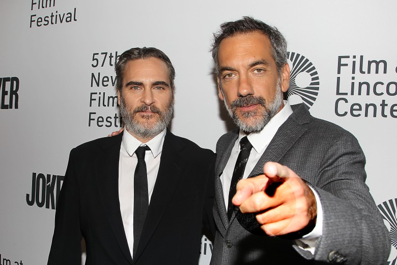 "Joaquin Phoenix and Todd PhillipsNYFF57 New York Premiere of ""Joker"", New York, USA - 02 Oct 2019"