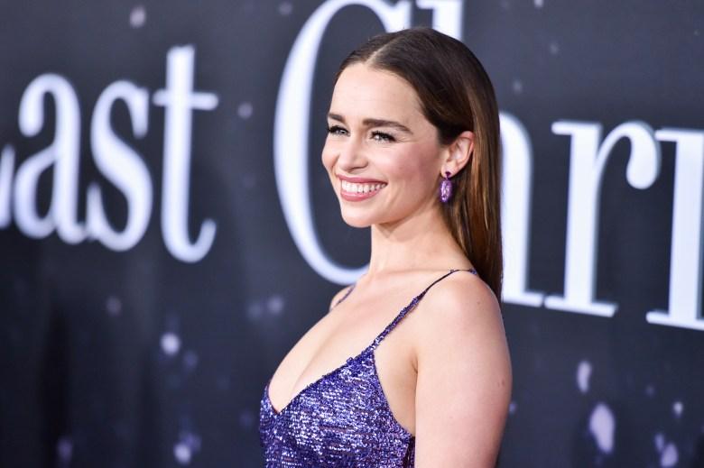 Emilia Clarke'Last Christmas' film premiere, Arrivals, New York, USA - 29 Oct 2019