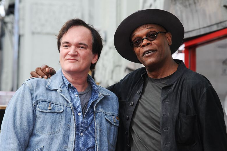 Quentin Tarantino, left, and Samuel L. Jackson attend a ceremony honoring Tarantino with a star on the Hollywood Walk of Fame, in Los AngelesQuentin Tarantino Honored With a Star on the Hollywood Walk of Fame, Los Angeles, USA - 21 Dec 2015