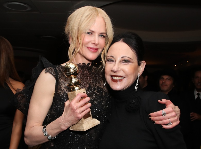 Nicole Kidman and Nancy LesserHBO Golden Globes After Party, Inside, Los Angeles, USA - 07 Jan 2018
