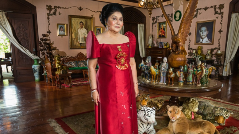 Imelda Marcos in KINGMAKER. Photo Credit: Lauren Greenfield.