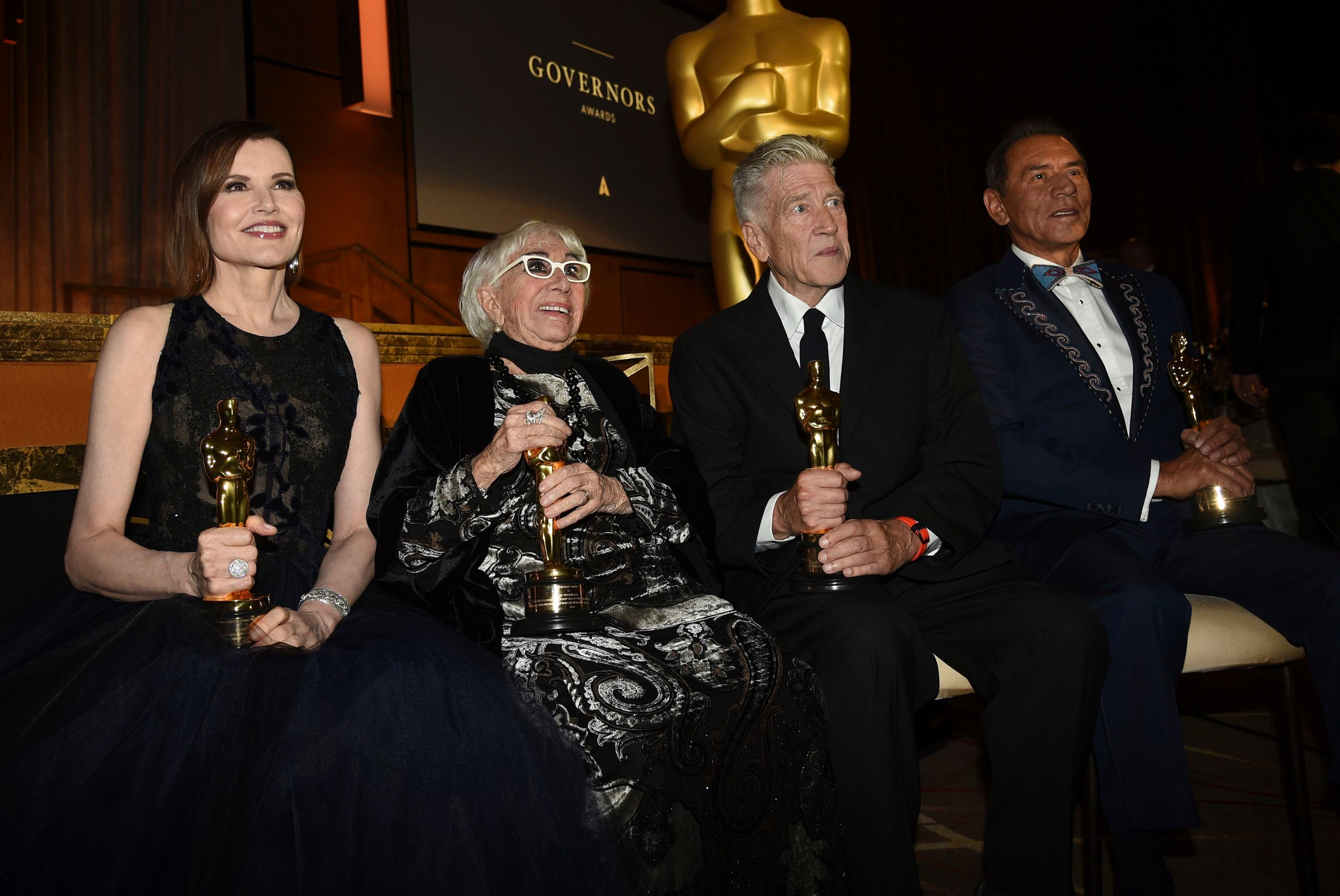 At Governors Awards, Lina Wertmuller Renames the Oscar and David Lynch Is a Man of Few Words
