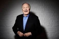 In this Oct. 25, 2018, photo, Alan Alda poses for a portrait in New York. When Alda receives his lifetime achievement award from the Screen Actors Guild, it will celebrate a career lasting nearly seven decadesAlan Alda Portrait Session - 09 Jul 2018