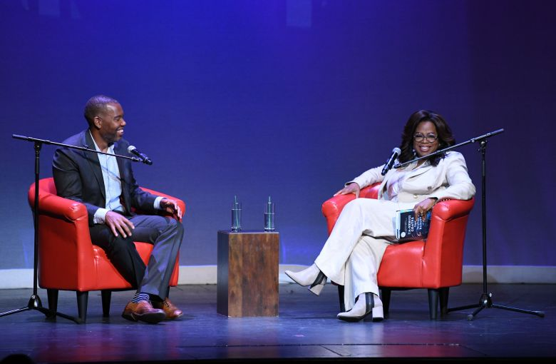 Ta-Nehisi Coates, Oprah WinfreyTa-Nehisi Coates in Conversation: The Water Dancer event, New York, USA - 23 Sep 2019