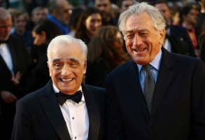 Martin Scorsese, Robert De Niro. Director Martin Scorsese, left, and actor Robert De Niro pose for photographers upon arrival at the premiere of the film 'The Irishman' as part of the London Film Festival, in central LondonLFF The Irishman, London, United Kingdom - 13 Oct 2019
