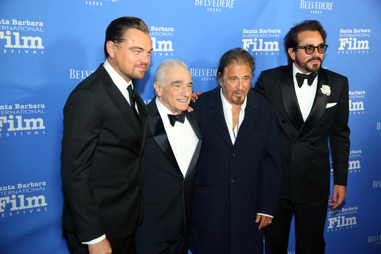 Leonardo DiCaprio, Al Pacino Fete Martin Scorsese at SBIFF ...