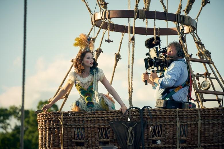 THE AERONAUTS Felicity Jones Cinematographer George Steel
