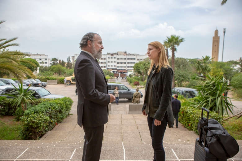 "Mandy Patinkin, Claire Danes, ""Homeland"""