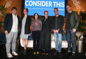 Chris O'Falt, Jade Healy, Deborah Cook, Sandy Powell, Christopher Peterson and Nathan Johnson