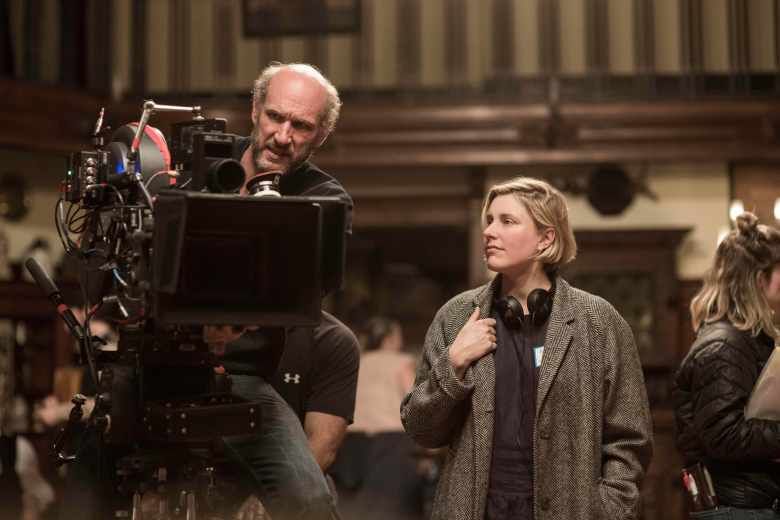 """Little Women"" Director/Writer Greta Gerwig and DP Yorick LeSaux"