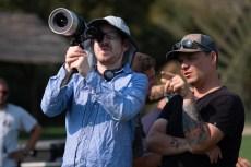 """Midsommar"" director Ari Aster and cinematographer Pawel Pogorzelski"