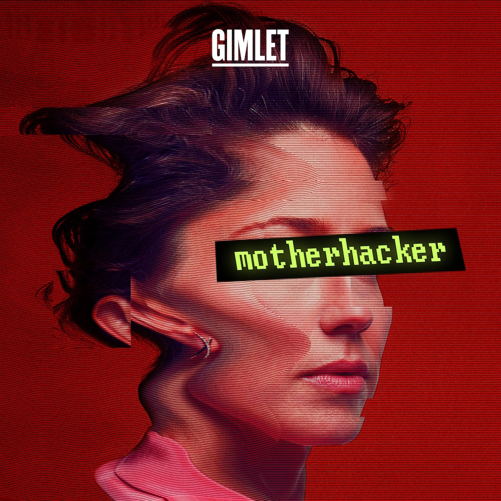 Motherhacker podcast poster