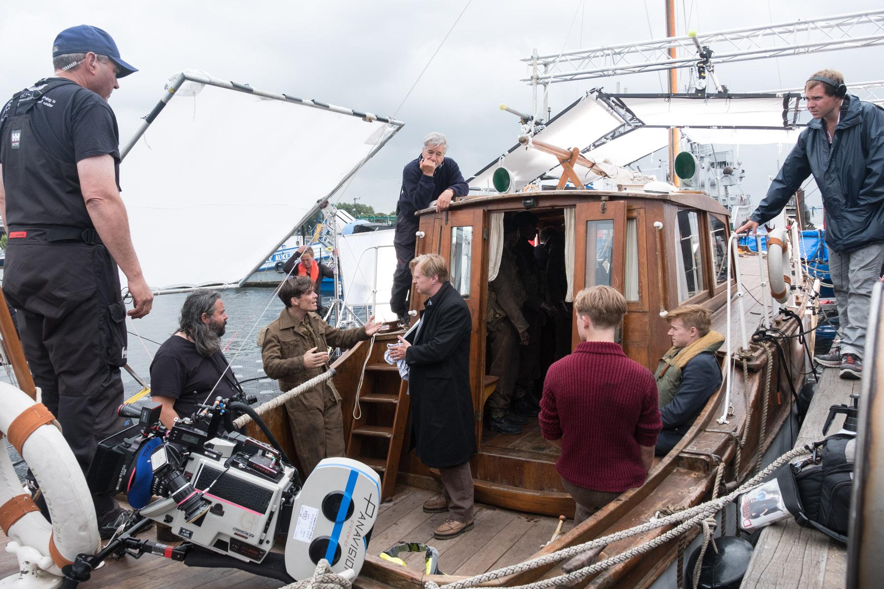 Influencers: Christopher Nolan's Team Is the Big-Budget, Practical-Filmmaking Alternative