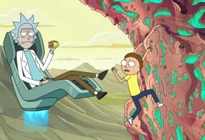 Rick and Morty Season 4 Episode 3 Climbing Wall