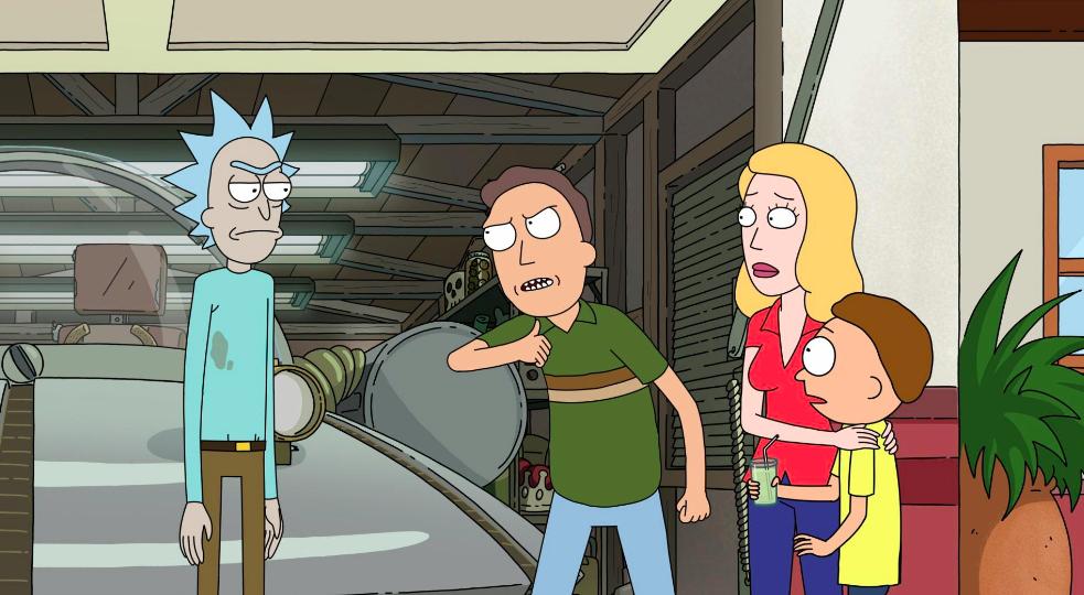 Rick et Morty Saison 4 Premier Edge de Tomorty