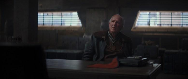 "Werner Herzog in ""The Mandalorian"""
