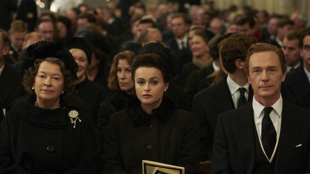 "Helena Bonham Carter in ""The Crown"" Season 3 on Netflix"