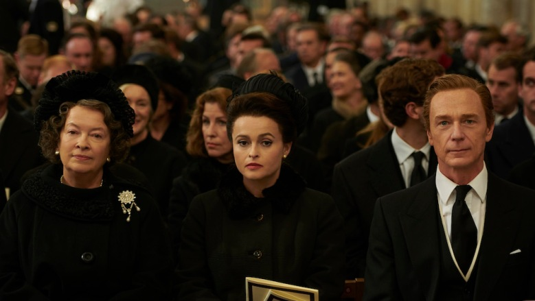 "Helena Bonham Carter in ""The Crown"" Season 3 on Netflix"