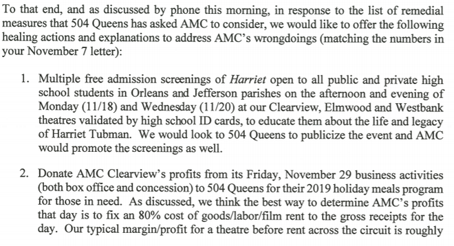 AMC Theatres Takes Action After Alleged Racial Profiling Incident at 'Harriet' Screening