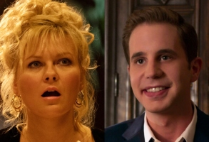 "Kirsten Dunst in ""On Becoming a God in Central Florida"" and Ben Platt in ""The Politician"""