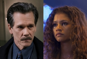 "Kevin Bacon in ""City on a Hill"" and Zendaya in ""Euphoria"""