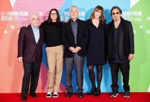 Martin Scorsese, Emma Tillinger Koskoff, Robert De Niro, Jane Rosenthal and Al Pacino'The Irishman' film photocall, BFI London Film Festival, May Fair Hotel, UK - 13 Oct 2019