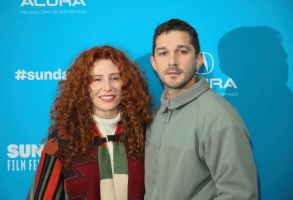 "Alma Har'el, Shia LaBeouf. Director Alma Har'el, left, and actor Shia LaBeouf pose at the premiere of ""Honey Boy"" during the 2019 Sundance Film Festival, in Park City, Utah2019 Sundance Film Festival - ""Honey Boy"" Premiere, Park City, USA - 25 Jan 2019"