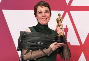 Olivia Colman - Lead Actress - 'The Favourite'91st Annual Academy Awards, Press Room, Los Angeles, USA - 24 Feb 2019