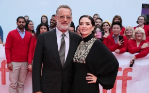Tom Hanks, Marielle Heller, DirectorTriStar Pictures 'A Beautiful Day in the Neighborhood' gala premiere at the Toronto International Film Festival, Toronto, Canada - 7 Sep 2019