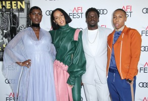 Jodie Turner-Smith, Melina Matsoukas, Daniel Kaluuya and Lena Waithe'Queen and Slim' film premiere, Arrivals, AFI Fest, Los Angeles, USA - 14 Nov 2019
