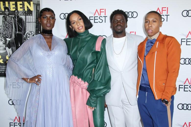 Jodie Turner-Smith, Melina Matsoukas, Daniel Kaluuya and Lena Waithe'Queen and Slim' film premiere, Arrivals, AFI Fest, Los Angeles, USA - 14 Nov 2019