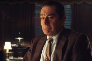 Robert De Niro Defends 'The Irishman' Against Claims It's Based on an Untrue Story