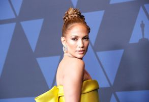 Jennifer Lopez poses on the red carpet prior to the 11th Annual Governors Awards at the Dolby Theater in Hollywood, California, USA, 27 October 2019.11th Annual Governors Awards - Arrivals, Hollywood, USA - 27 Oct 2019