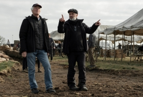 """1917"" cinematographer Roger Deakins and director Sam Mendes"