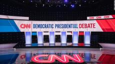 CNN Democratic Presidential Debate