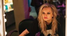 """Elisabeth Moss plays Becky Something, a punk singer struggling with substance abuse, in the new filmHer Smell. """"It was the hardest dialogue I've ever had to learn,"""" she says"""