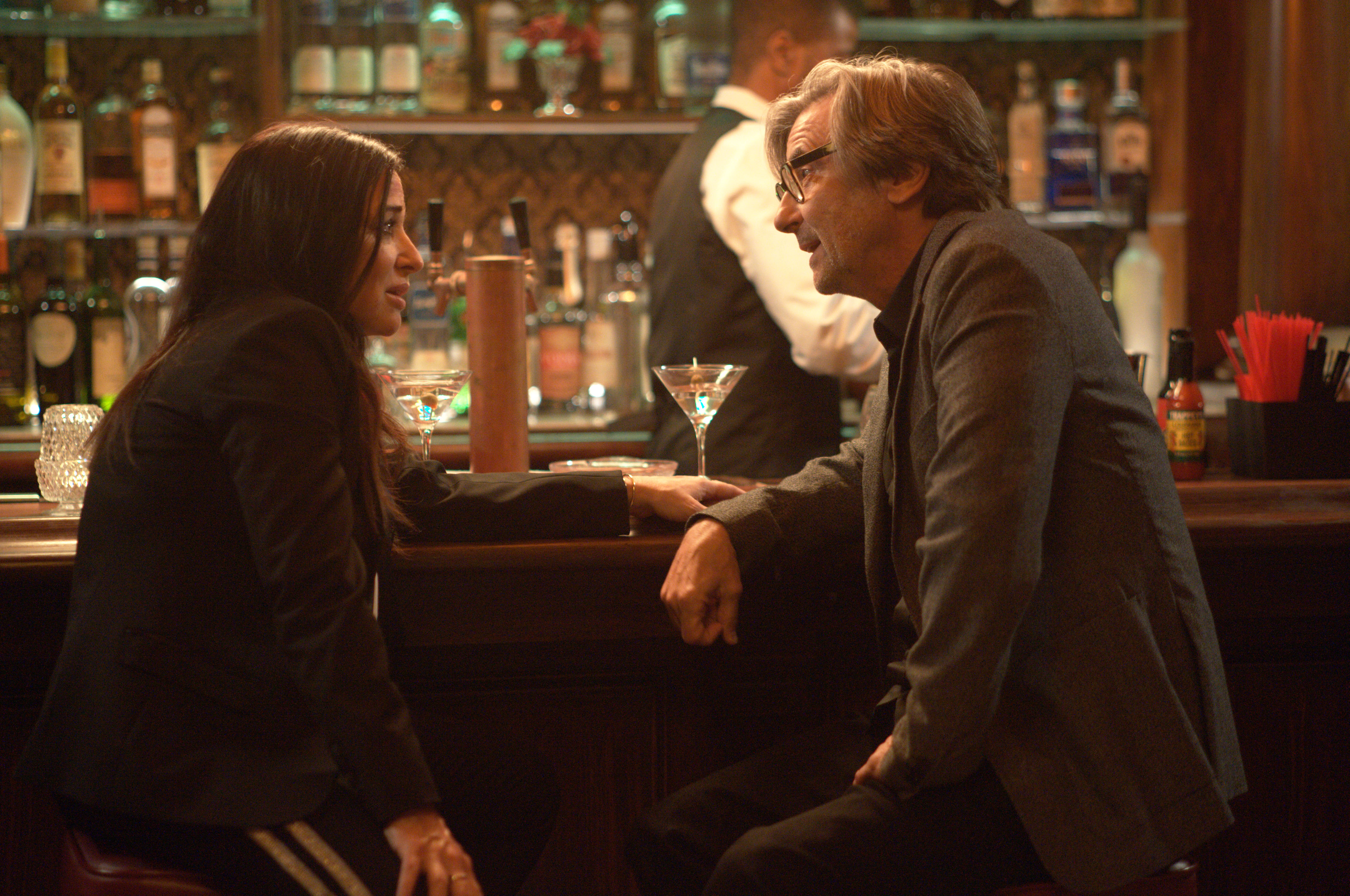 "BETTER THINGS ""The Unknown"" Episode 9 (Airs Thursday, April 25 10:00 pm/ep) -- Pictured: (l-r) Pamela Adlon as Sam Fox, Griffin Dunne as Durham. CR: Suzanne Tenner/FX"